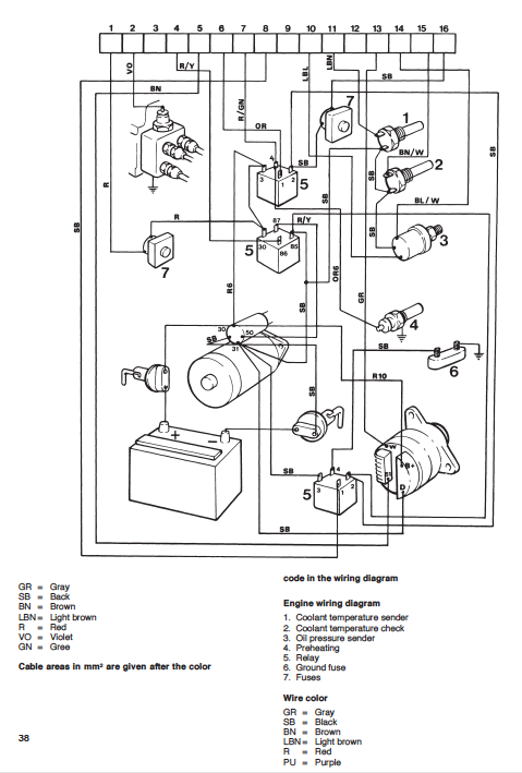 watch more like volvo wiring diagrams volvo 240 stereo wiring diagram likewise volvo penta starter wiring